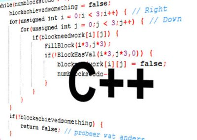 Programmation C++, perfectionnement
